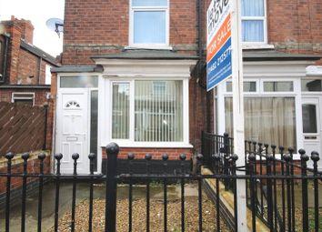 Thumbnail 2 bedroom end terrace house to rent in Fairmount Avenue, De La Pole Avenue, Hull