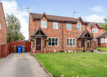 Thumbnail 3 bed semi-detached house for sale in Sorrel Close, Uttoxeter