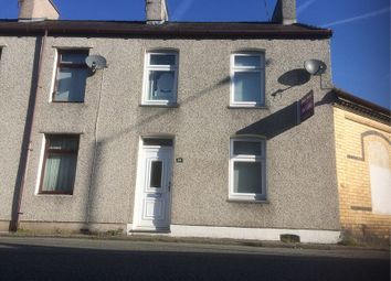 Thumbnail 3 bed terraced house for sale in Hafod Terrace, Caernarfon