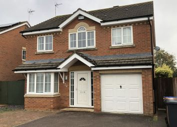 Thumbnail 4 bed detached house to rent in Nettle Gap Close, Wootton, Northampton