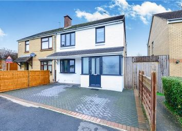 Thumbnail 3 bed semi-detached house for sale in Balmoral Road, Keynsham, Bristol