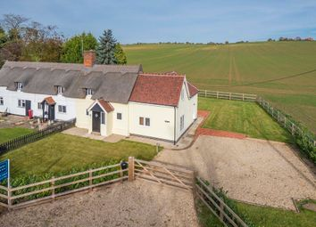 Thumbnail 3 bed cottage for sale in Lower Road, Glemsford, Suffolk