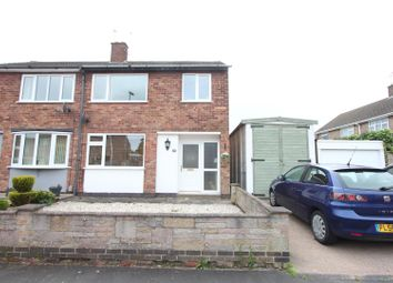 Thumbnail 3 bed semi-detached house for sale in Chesterfield Way, Barwell, Leicester