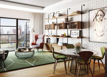 Thumbnail 1 bed flat for sale in Carson House, 6 Burrells Wharf Square, London