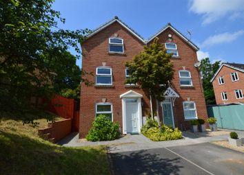Thumbnail 4 bed town house for sale in Rhiw'r Derwen, Llanharan, Pontyclun