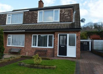 Thumbnail 3 bed semi-detached house for sale in Leabank Avenue, Garforth