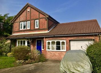 Thumbnail 4 bed detached house for sale in Montrose Close, Macclesfield