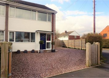 Thumbnail 3 bed semi-detached house for sale in Pool Road, Trench Telford