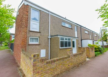 Thumbnail 2 bedroom end terrace house for sale in Fraser Close, Shoeburyness