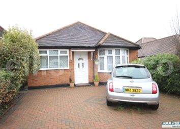 Thumbnail 2 bed detached bungalow for sale in Featherstone Road, Mill Hill, London