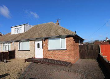 Thumbnail 3 bed semi-detached bungalow for sale in Merrifield Road, Lowestoft