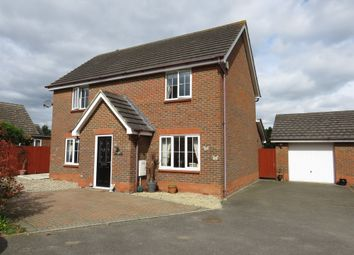Thumbnail 4 bed detached house for sale in Cygnet Close, Attleborough