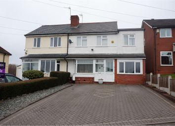 Thumbnail 4 bed semi-detached house for sale in Maypole Hill, Halesowen