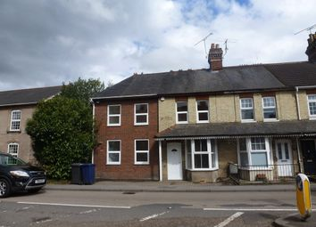Thumbnail 3 bed end terrace house to rent in Wrecclesham Road, Farnham