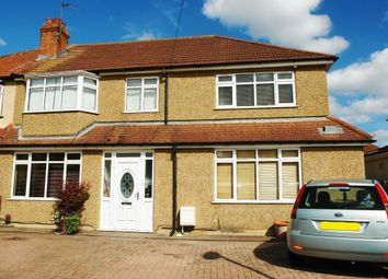 Thumbnail 6 bedroom semi-detached house for sale in Selbourne Avenue, Tolworth, Surbiton