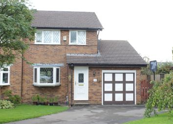 Thumbnail 3 bed semi-detached house for sale in Foxlea, Glossop