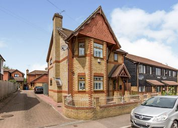 Thumbnail 3 bed detached house for sale in Station Road, Newington, Sittingbourne