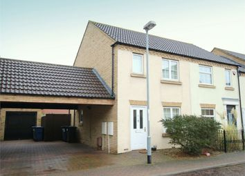 Thumbnail 2 bed end terrace house for sale in Ream Close, Eynesbury, St. Neots