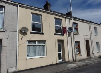 Thumbnail 3 bed terraced house to rent in Emma Street, Llanelli