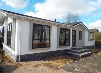 Thumbnail 2 bedroom mobile/park home for sale in The Park, Langham, Oakham, Leicestershire