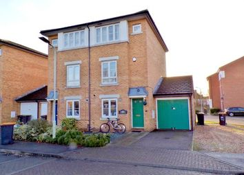 Thumbnail 3 bedroom semi-detached house for sale in Kathie Road, Bedford, Bedfordshire