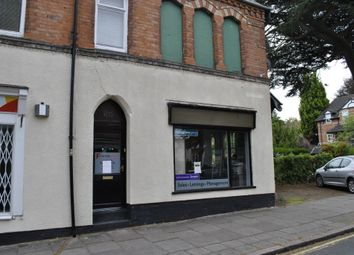 Retail premises to let in Francis Street, Stoneygate LE2