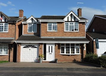 Thumbnail 4 bed detached house for sale in Maple Grove, Lichfield