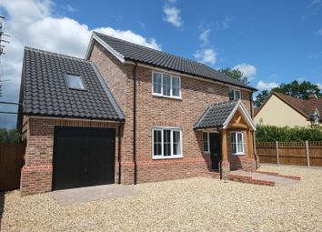 Thumbnail 4 bedroom detached house for sale in Northfields Lane, Westfield, Dereham