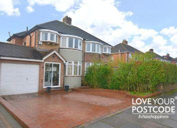 Thumbnail 3 bed semi-detached house for sale in Osmaston Road, Harborne, Birmingham