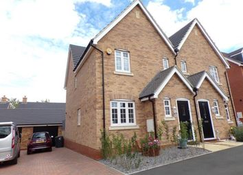 Thumbnail 3 bed semi-detached house for sale in Condor Boulevard, Shortstown, Bedford, Bedfordshire