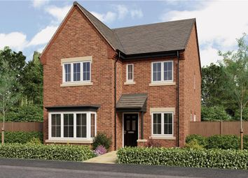 "Thumbnail 4 bed detached house for sale in ""Mitford"" at Burton Road, Streethay, Lichfield"