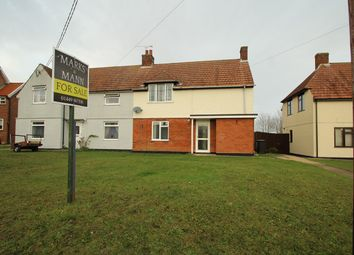 Thumbnail 4 bed semi-detached house for sale in Poplar Hill, Stowmarket