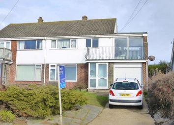 Thumbnail 4 bed semi-detached house for sale in Old Dover Road, Capel-Le-Ferne, Folkestone