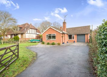 Thumbnail 4 bed detached bungalow for sale in Salisbury Road, Shootash, Romsey