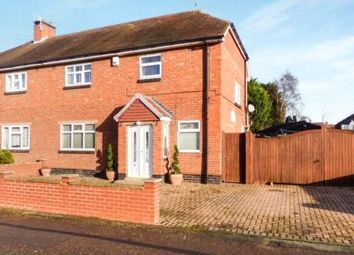 Thumbnail 4 bed semi-detached house for sale in Central Avenue, Syston, Leicester