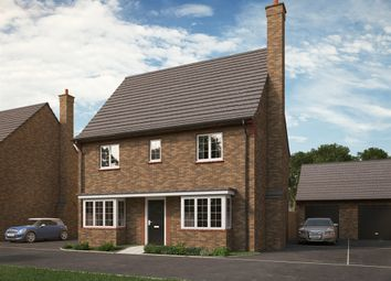"""Thumbnail 4 bed detached house for sale in """"The Sherington """" at Park Crescent, Stewartby, Bedford"""