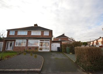 Thumbnail 3 bed semi-detached house for sale in Bickenhill Road, Marston Green, Birmingham