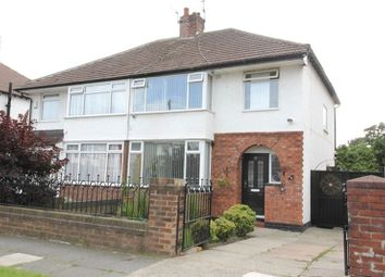 Thumbnail 3 bedroom semi-detached house for sale in Melbreck Road, West Allerton, Liverpool