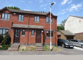 Thumbnail 3 bed semi-detached house for sale in Fern Close, Plympton, Plymouth
