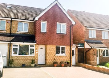 Thumbnail 4 bed semi-detached house for sale in Daisy Drive, Hatfield