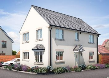 "Thumbnail 4 bed property for sale in ""Walberswick"" at Muntjac Road, Langford, Bristol"