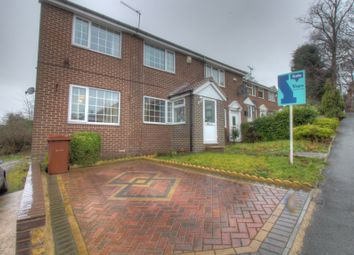 Thumbnail 4 bedroom end terrace house for sale in Hough End Lane, Bramley, Leeds