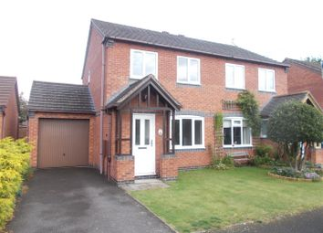 Thumbnail 3 bed semi-detached house for sale in Curia Close, Shrewsbury
