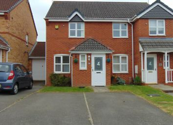 Thumbnail 2 bed semi-detached house to rent in Pipistrelle Way, Oadby, Leicester