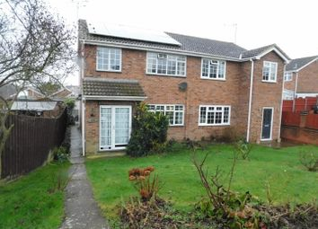 Thumbnail 3 bed semi-detached house for sale in Downside, Stowmarket