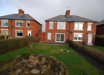 Thumbnail 3 bed semi-detached house to rent in Park Road, Lynemouth, Morpeth