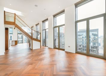 Thumbnail 3 bed flat for sale in Embassy Gardens, Capital Building, London, Sw8, London