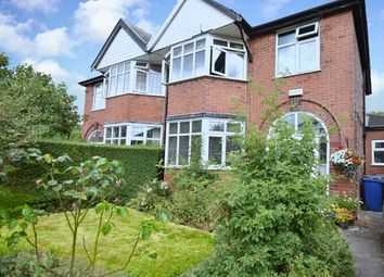 Thumbnail 3 bed semi-detached house for sale in Hartley Avenue, Prestwich, Manchester