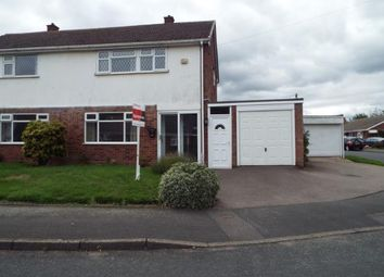 Thumbnail 3 bed semi-detached house for sale in Larchwood Crescent, Streetly, Sutton Coldfield, West Midlands