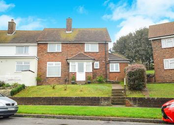 Thumbnail 3 bed end terrace house for sale in Stanstead Crescent, Brighton